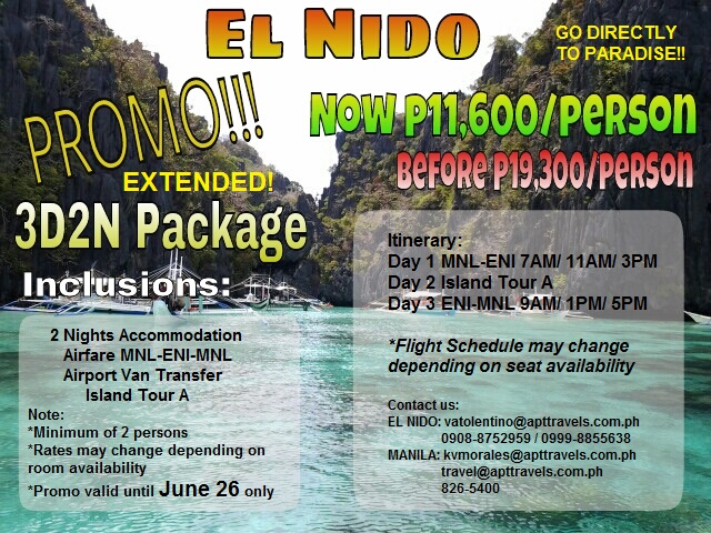 El Nido Hotels With Tour Packages