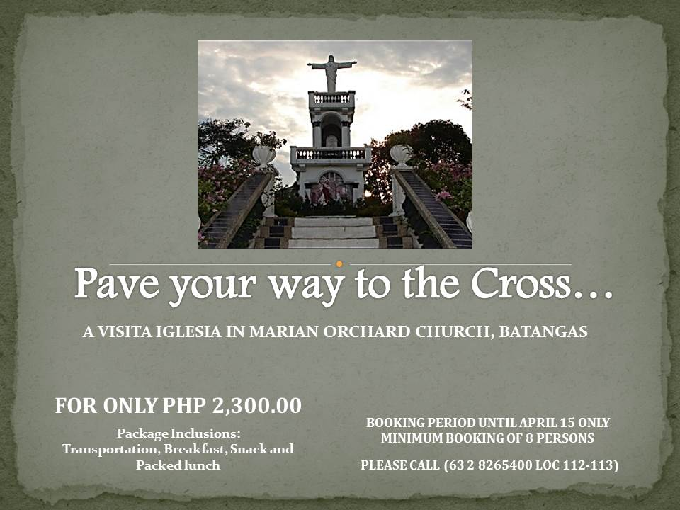 Pave your way to the Cross